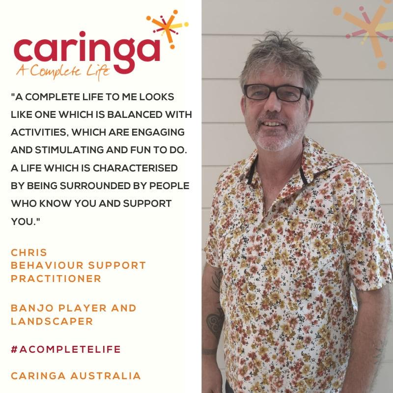Introducing Chris Browne –  Behaviour Support Practitioner!
