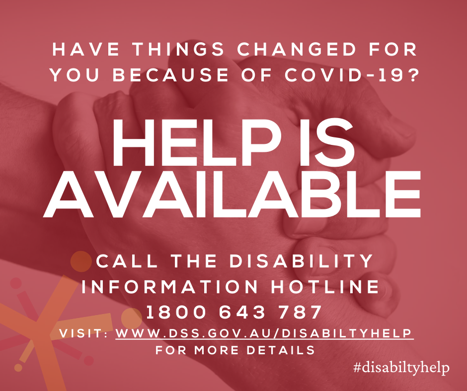 COVID-19 Disability Information & Support