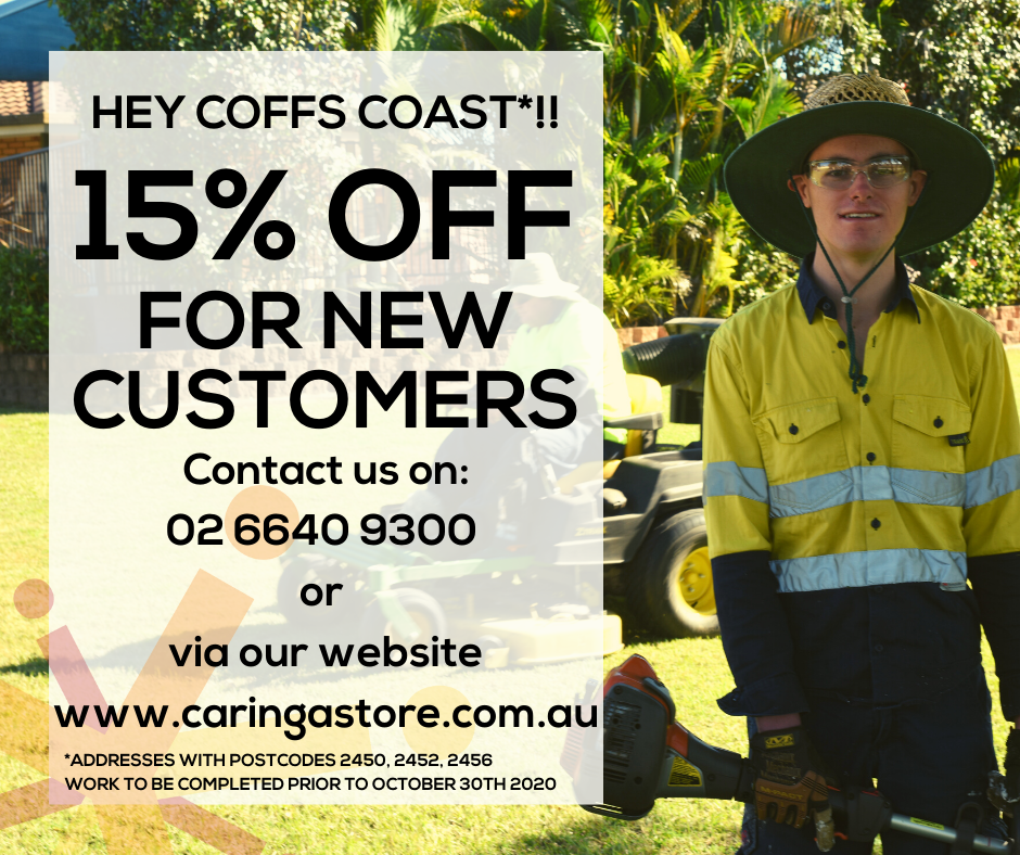15% Off for New Topcuts Lawn & Garden Customers*