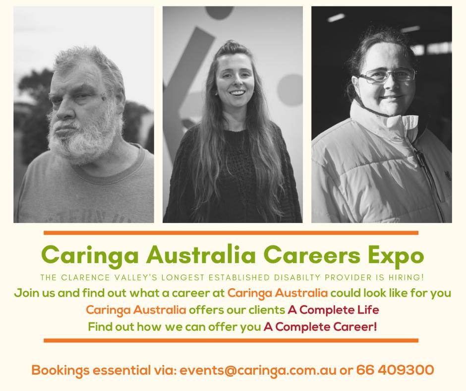 Caringa Australia Career Expo