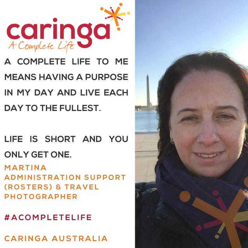 Introducing Martina, Caringa Australia's new Administration Support Superstar!