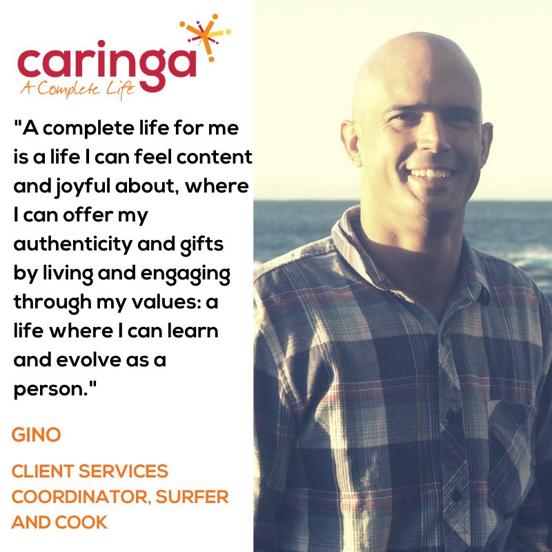 Say G'day to Gino, our new Client Services Coordinator!
